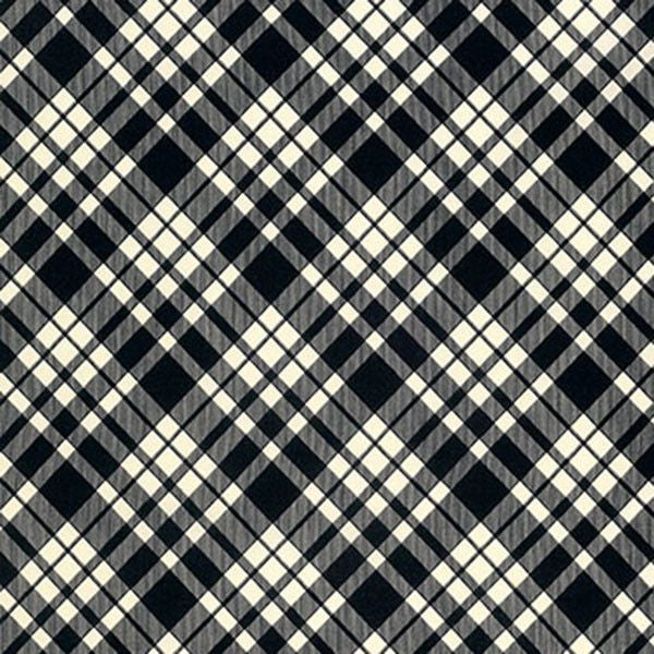 Plaid in Thistle