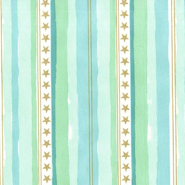Stars and Stripes in Aqua