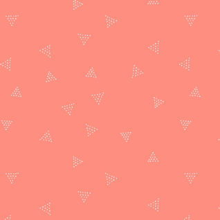 Triangle Dot in Coral