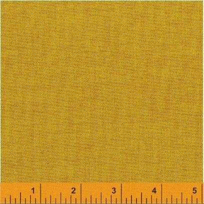 Artisan Cotton in Yellow/Copper