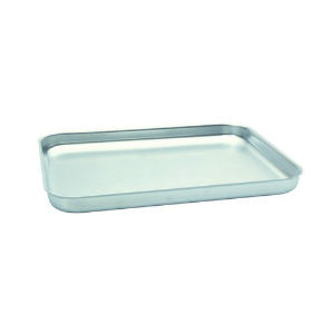 BAKING PAN ALUM RECT 419X305X38MM STRAIGHT SIDES