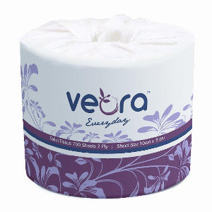 Veora 22002F Everyday Toilet Tissue 700 Sheets | 2-Ply