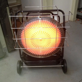 The SilentDrive HK125RW BE Diesel Radiant Heater - 125000 BTU 37kW