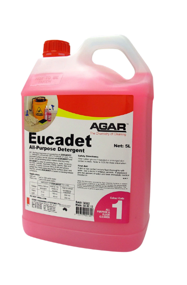 AGAR Eucadet - All Purpose Detergent 5L (EU5)