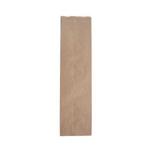 BAG PAPER BROWN BOTTLE SINGLE 385X115X50MM (PK500)