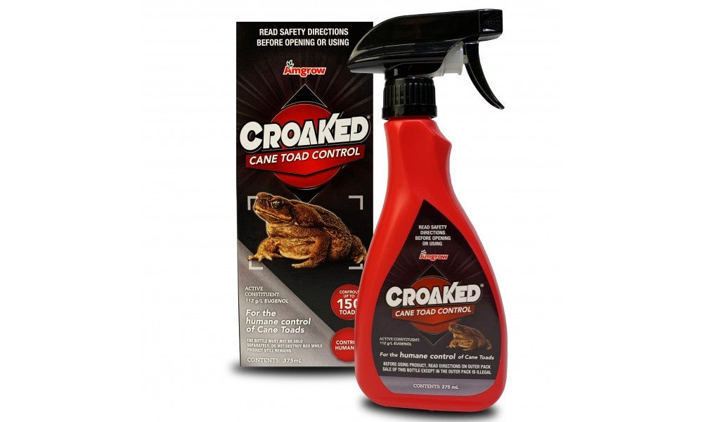 Croaked Cane Toad Control