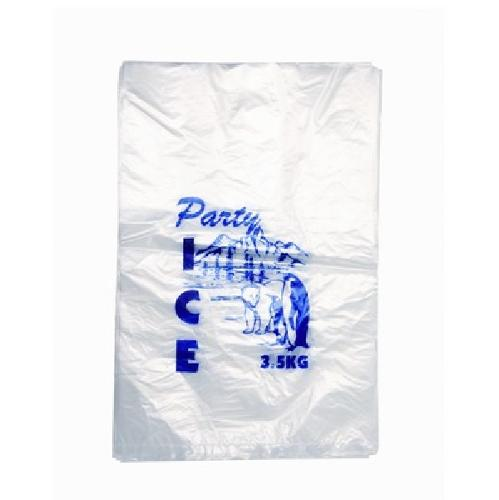 ICE BAG PLASTIC CLEAR STOCKPRINT 5KG 600X330MM (CT500)