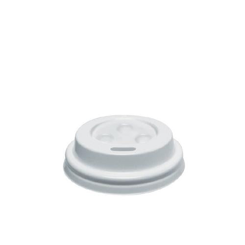 LID PLASTIC WHITE SIPPA FOR 4OZ / 118ML CUP (PK100)