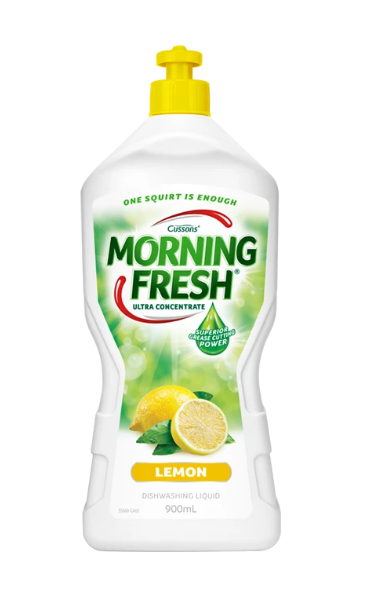 Lemon Morning Fresh 900ml dishwashing liquid super concentrate