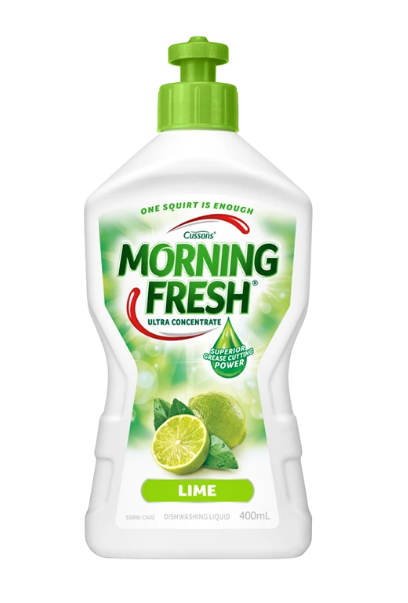 Lime Morning Fresh 900ml dishwashing liquid super concentrate