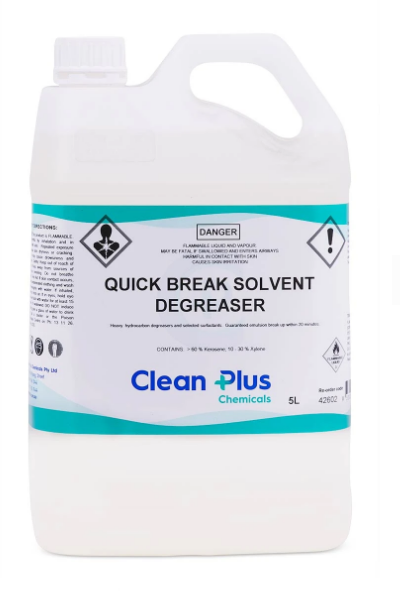 Quick Break Solvent Degreaser