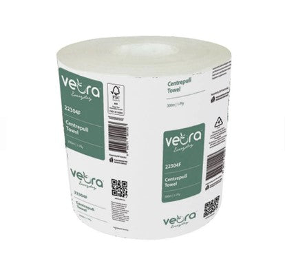 Veora 22304F Everyday Centrepull Towel 300 M 1-Ply