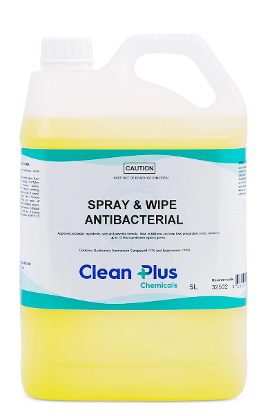 Spray And Wipe Antibacterial Solvent Based Chemical