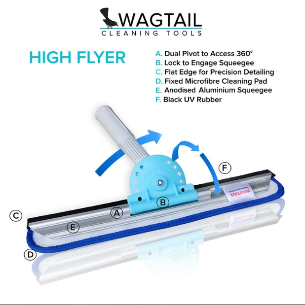 Wagtail High Flyer Window Cleaning Tools - HF