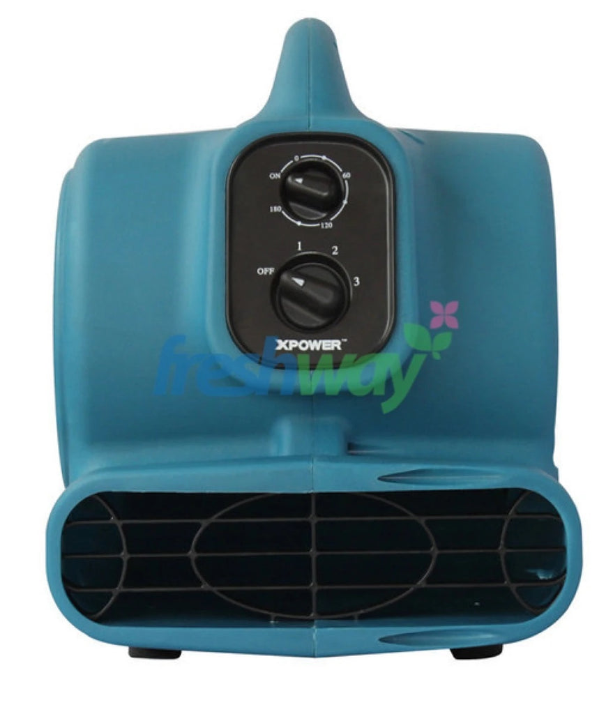 XPOWER P-230AT 1-4 HP 3 Speed 175 Watt Mini Air Mover