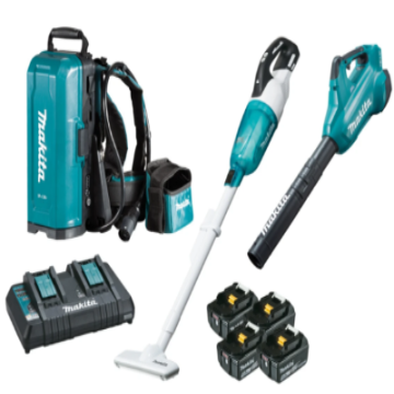 Makita DLX2356TX1 18V BRUSHLESS 2 Piece Combo