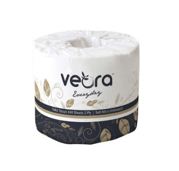 Veora 22003F Everyday Micro Embossed Toilet Tissue