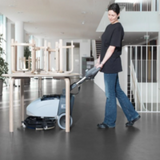 Walk Behind Compact Scrubber
