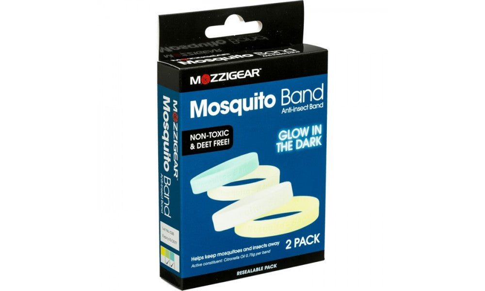 Mozzigear Mosquito Bands - Glow In The Dark