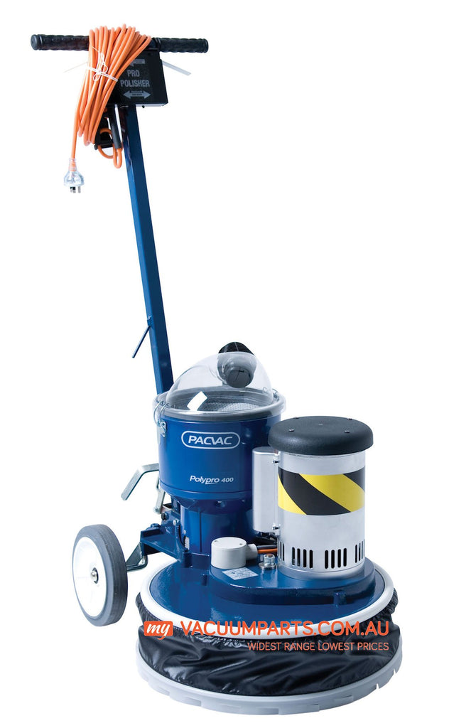PACVAC Polypro 400 Commercial Floor Polisher & Scrubber