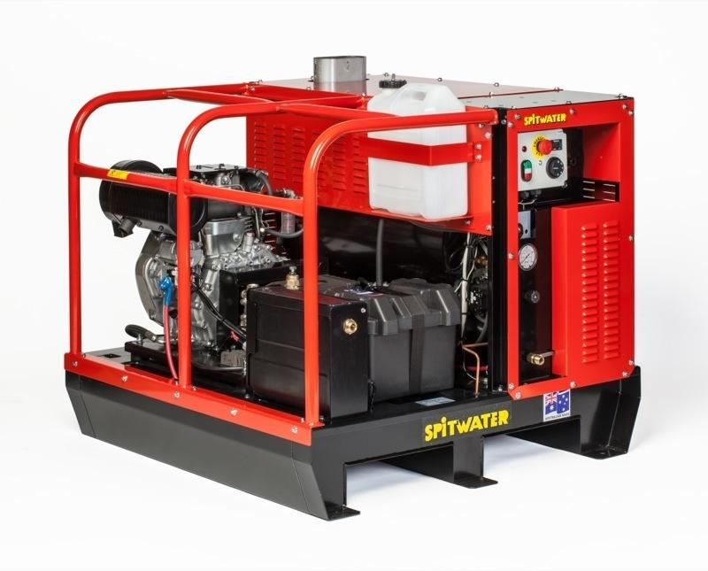 Spitwater SW15-200DE 3000PSI 9.5HP Portable Diesel Hot Water Pressure Cleaner (SHW87)