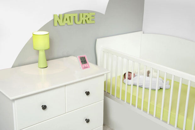 Baby Room Mini Hygrometer with Smart Smiley Face | Aini Baby