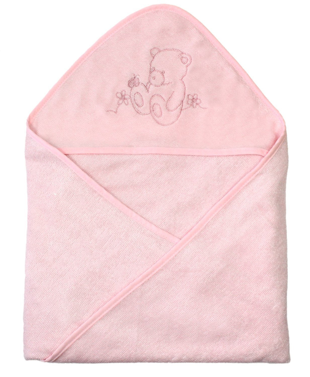 LITTLE BEAR Organic Bamboo Hooded Towel Wrap