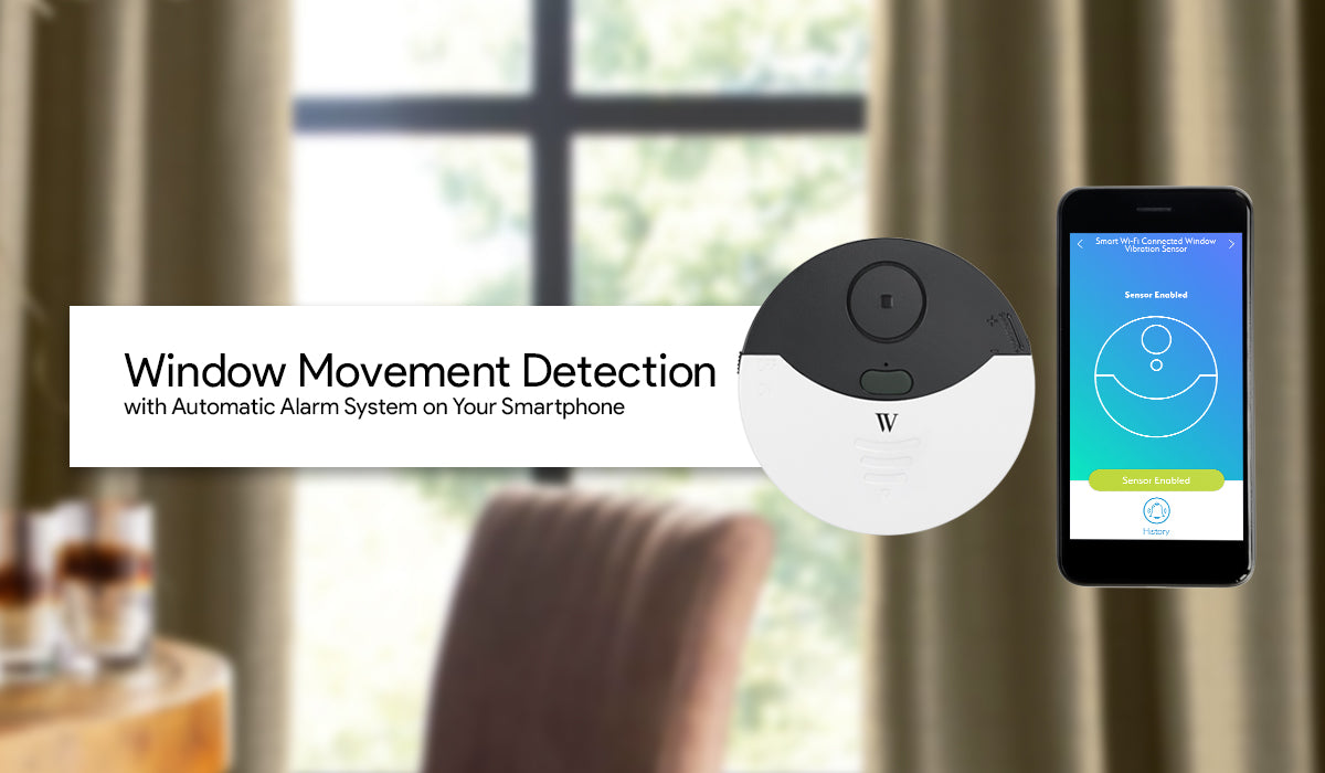 Window Movement Detection with Automatic Alarm System on Your Smartphone