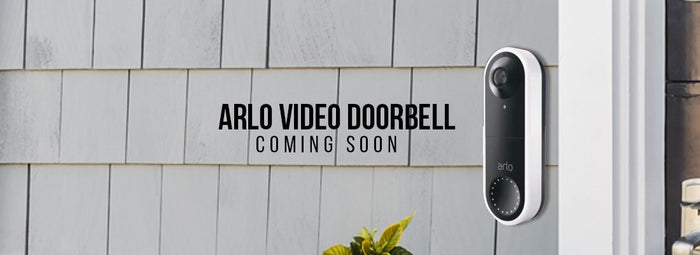Coming Soon: Arlo Video Doorbell