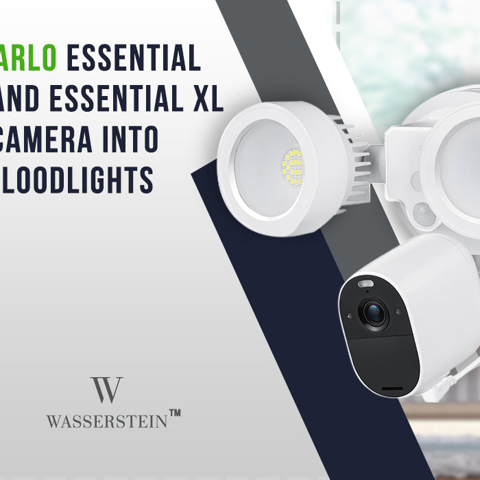 Turn your Arlo Essential Spotlight and Essential XL Spotlight Camera into Powerful Floodlights