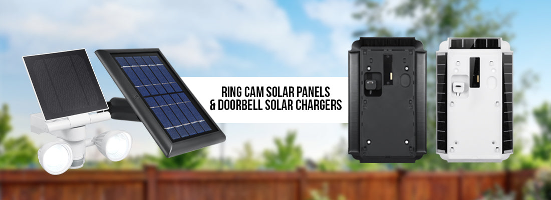 Wasserstein Ring Solar Panels and Chargers