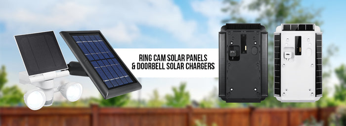 Ring Solar Panels & Chargers | Wasserstein