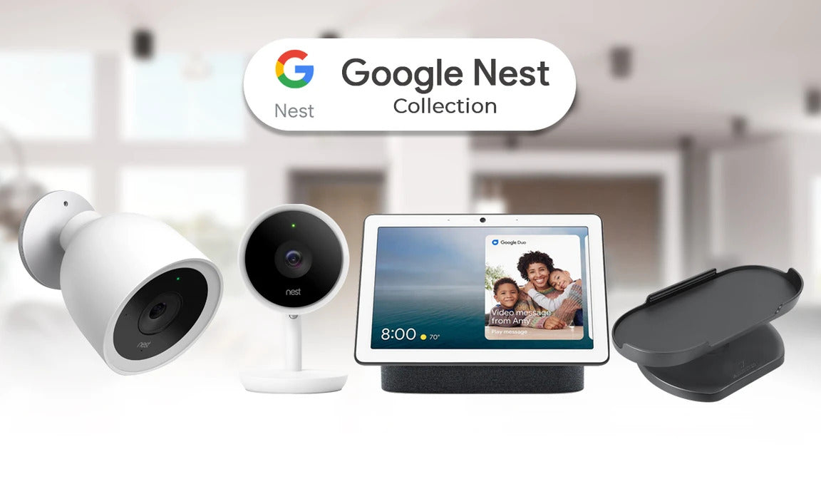 Google Nest Indoor Camera Bundles and Accessories