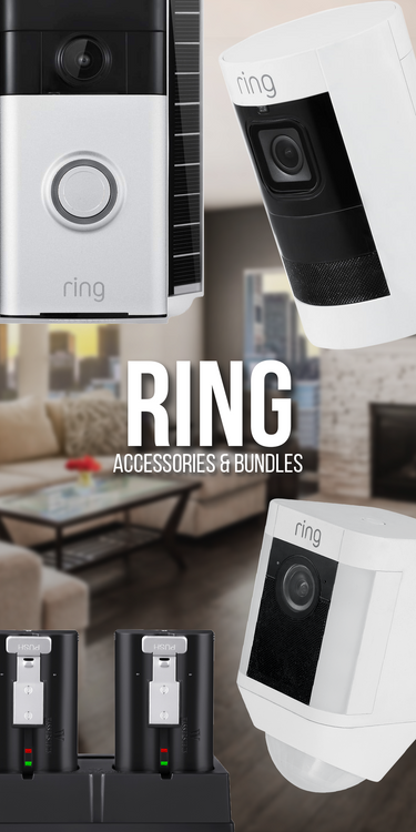 Ring Cams, Doorbells Accessories & Bundles | Wasserstein