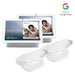 Google Nest Hub Max with Made for Google Adjustable Stand Bundle 2-Pack