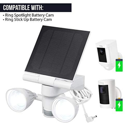 Ring Floodlight & Solar Panel Charger | Wasserstein Home