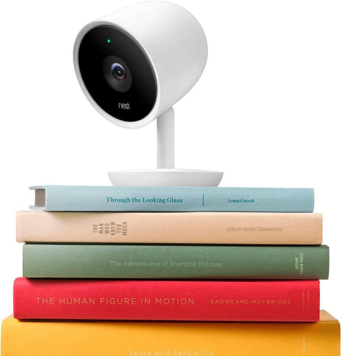 Google Nest Cam IQ Indoor Full HD Wi-Fi Home Security Camera - Flexible and intelligent camera (2-Pack)