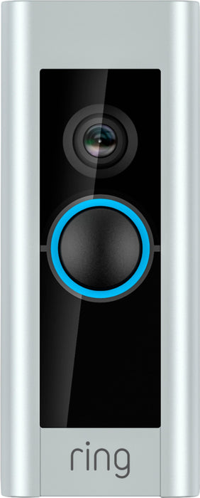Ring Video Doorbell Pro and Ring Stick Up Cam Battery with Solar Panel Bundle