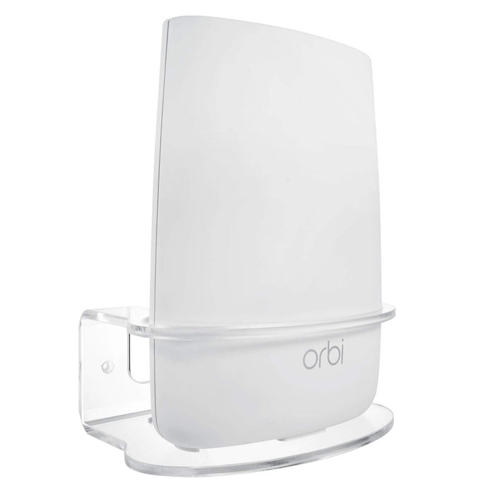 Orbi Performance Mesh WiFi System Bundled with 2-Pack Acrylic Wall Mount | Wasserstein Home