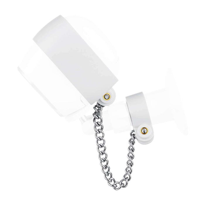 Wasserstein Anti-Theft Security Chain Compatible with Arlo HD - Extra Security for Your Arlo Camera (White) | Wasserstein Home