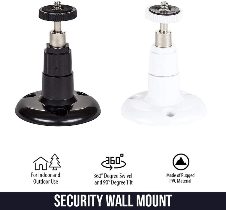 Wasserstein Security Wall Mount - Adjustable Indoor/Outdoor Mount Compatible with Arlo, Pro, Pro 2, Ultra
