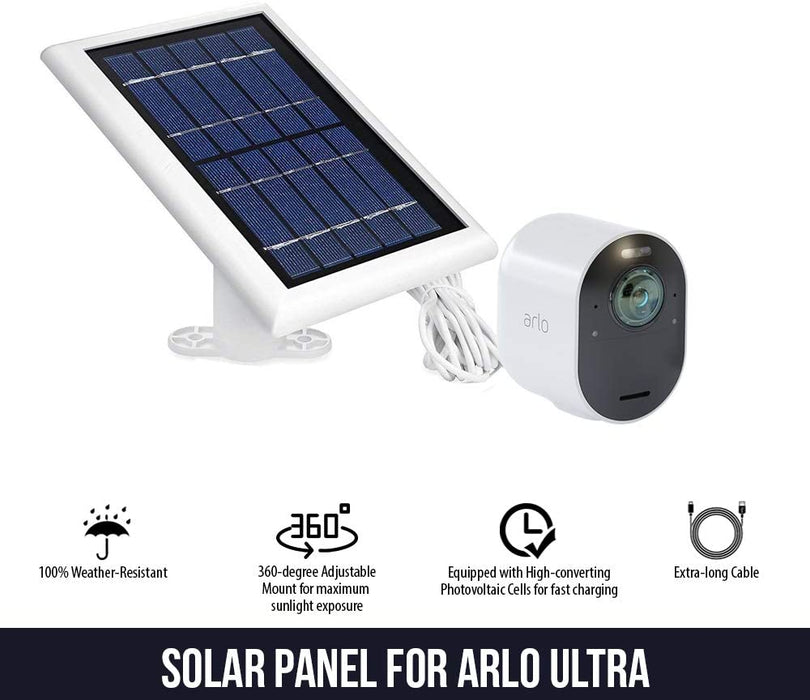 Arlo Ultra and Pro 3 Solar Panel