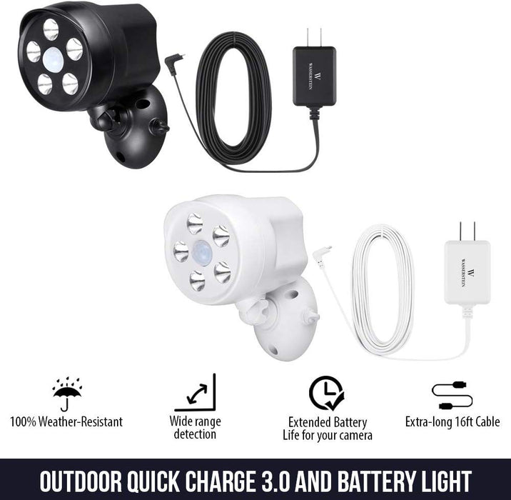 Arlo Pro, Pro 2 Battery Spotlight with Quick Charger