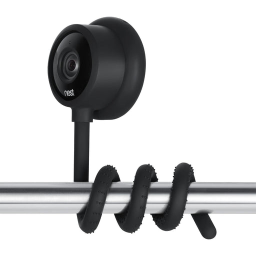 Wasserstein Versatile Twist Mount for Google Nest Cam Indoor, Flexible Gooseneck-Like Mount for Google Nest Indoor Camera