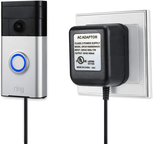 Power Supply Adapter for Ring Video Doorbells | Wasserstein Home