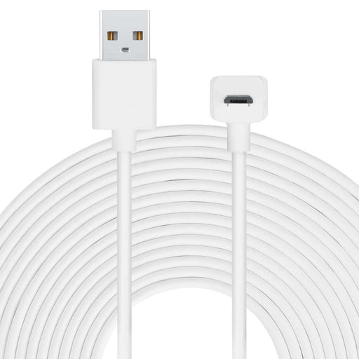 Long Cable for Amazon Cloud Cam with L-Shaped Micro-USB | Wasserstein Home