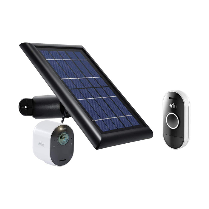 Arlo Ultra Cam with Solar Panel & Arlo Audio Doorbell