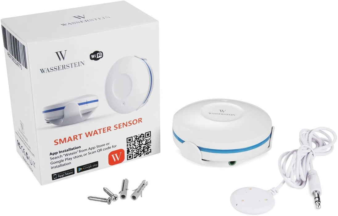Wasserstein WiFi Water Leak Sensor, Smart Flood Detector