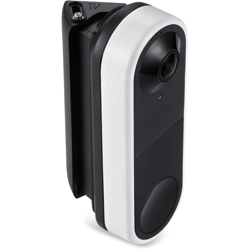 Wasserstein 30° to 55° Horizontal Wedge Wall Mount Compatible with Arlo Video Doorbell - Flexible Mounting Options for your Smart Doorbell