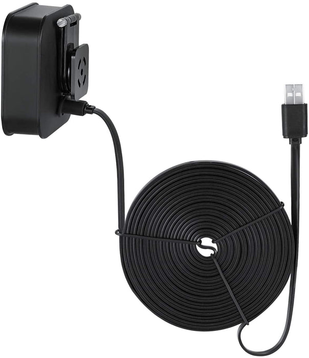 Weatherproof Power Cable for Blink Outdoor & Blink XT2/XT Camera - Long and Thin 16ft Cable